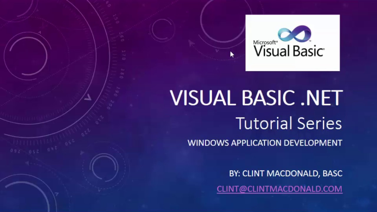 Visual Basic Tutorial 9