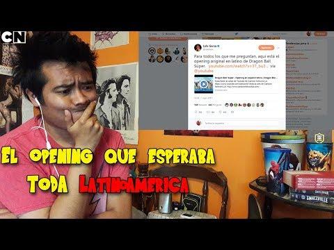 Vídeo reacción Dragon Ball Super Opening en Español Latino| Cartoon Network lo volvió a hacer |
