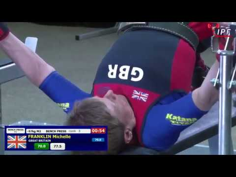 Women M1-M4, 57 & 63 kg - World Equipped Bench Press Championships 2018