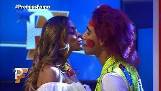 Lapizito se pone nervioso con un beso de Gaby