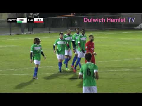 Dulwich Hamlet v Harrow Borough, London Senior Cup, 20/02/18 | Match Highlights