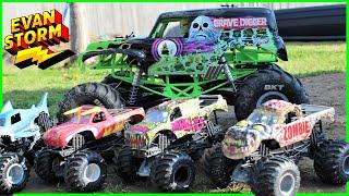 Monster Truck Monday 3 Monster Jam Smash Up Grave Digger RC DESTRUCTION