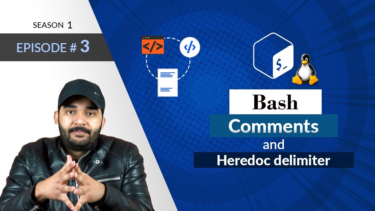 Bash Comments and Heredoc Delimiter