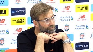Jurgen Klopp Full Pre-Match Press Conference - Liverpool v Bournemouth - Premier League