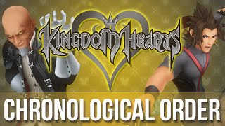 The Kingdom Hearts Series In Chronological Order (quick Lore)