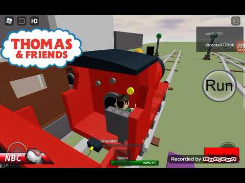 i play Thomas and friends games And  sinking ship simulator in roblox |