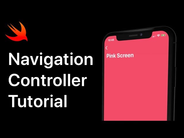 iOS Navigation Controller Tutorial | Xcode 11.4 Swift 5.2