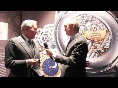 British GQ deputy editor, Bill Prince interviews Chopard's CEO Karl-Friedrich Scheufele