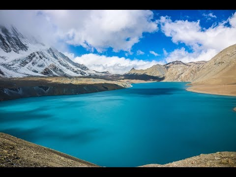 Tilicho NEPAL [HD] Lake In The Highest Altitude NEPAL #vlog3 - Annapurna Circuit