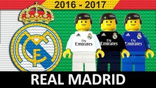 Real Madrid 2016/17 • Lego Football Film 2017 • LaLiga • Champions League • Copa del Rey