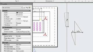 AutoCAD 2012 -  Advanced Dimension Operations Tutorial Video