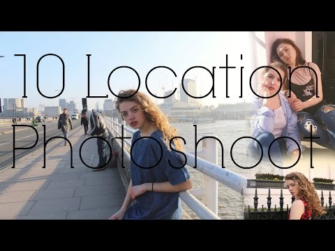 ALL DAY PHOTOSHOOT LONDON: How to Take Best Instagram Photos