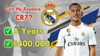 Eden Hazard is NEW Real Madrid Player! Can He Replace Cristiano Ronaldo?