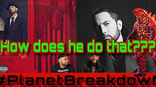 EMINEM FT JUICE WORLD - GODZILLA | REACTION | PLANET BREAKDOWN