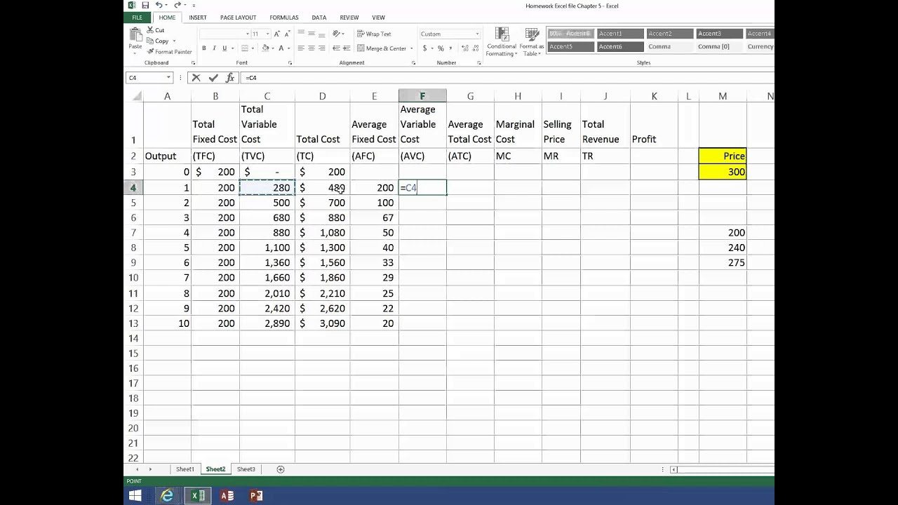 Chapter 5 Excel File
