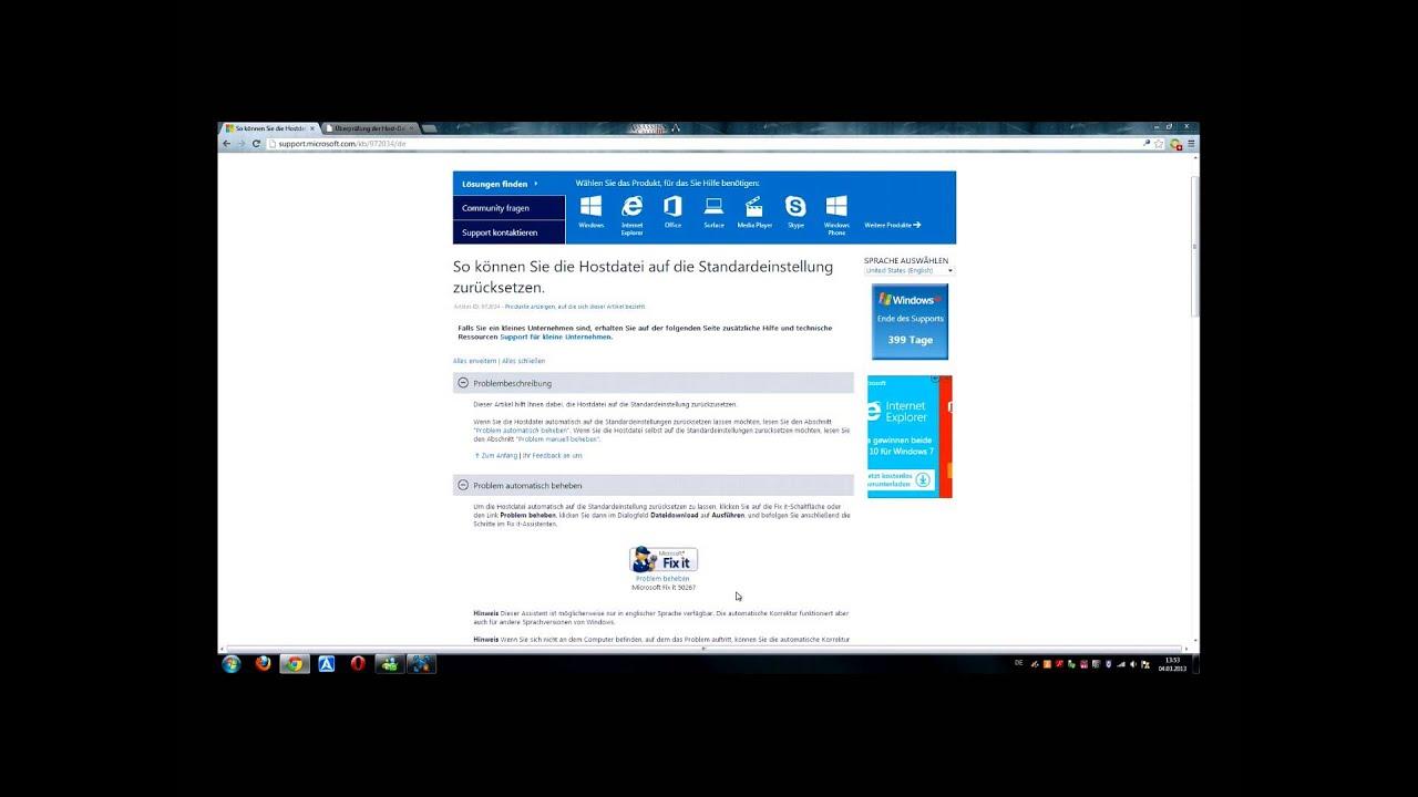 [FIX-IT] Uplay Verbindung Fix - Hostsdatei editieren