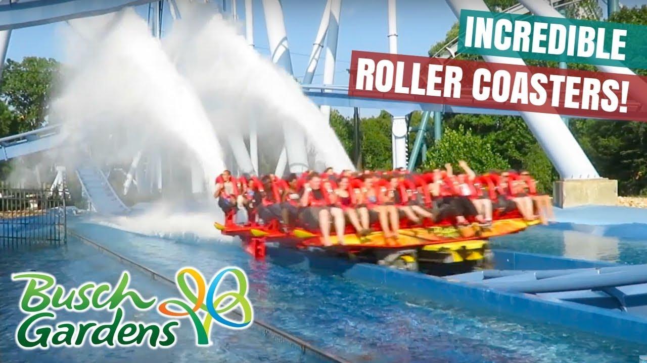 Riding Tempesto Apollos Chariot Invadr Griffon And Verbolten At Busch Gardens Williamsburg