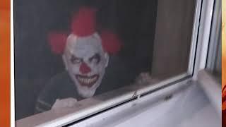 Děsivý klaun Ondry Vlčka u nás
