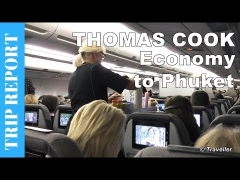 THOMAS COOK ECONOMY CLASS flight to Phuket - Airbus A330 Flight Review