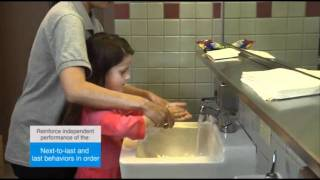 Chaining Hand Washing - Autism Therapy Video
