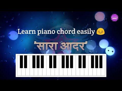 Piano Chords for Hindi worship song | Sara aadar saari mahima