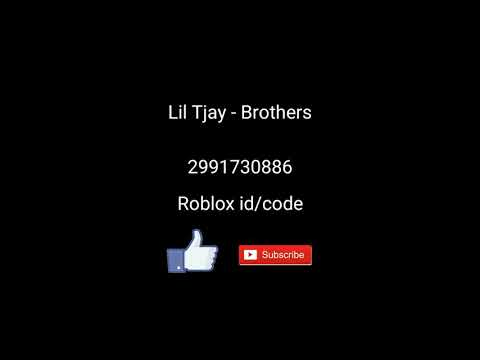 Lil Tjay Brothers Roblox Id Code Youtube