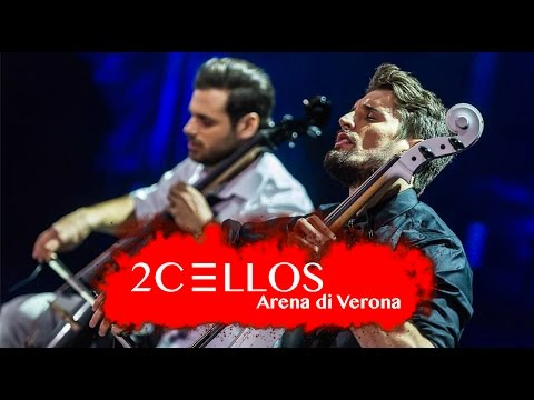 2CELLOS  With Or Without You  at Arena di Verona