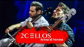 Скачать 2CELLOS With Or Without You Live At Arena Di Verona