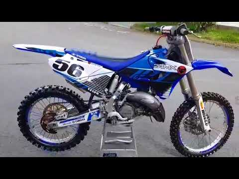 Yamaha Yz 125 2005 bike walk around with 2016 plastics at muckandfun com