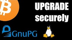 How to securely upgrade Bitcoin Core (Linux)