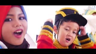 SD AL AZAM VOICE KIDS - Laskar Pelangi dan Fight Song (COVER MEDLEY)