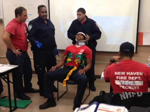 New Haven Fire Department Recruit Class 57 - YouTube