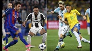 Neymar Jr Humiliating Teammates ● Humiliating  Messi, Dani Alves, Pique, Mascherano | HD