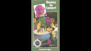 Barney in Concert 1991 VHS