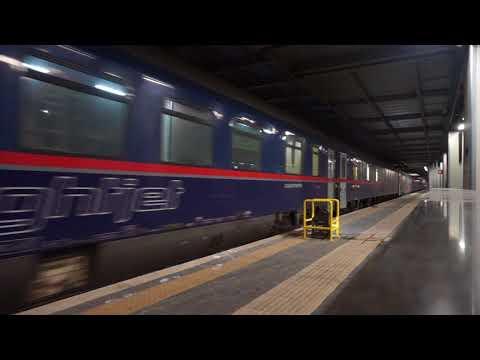 ÖBB Nightjet Euronight 294/40294 departing from Roma Termini
