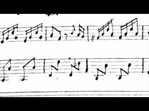 The oldest version of the Sailors Hornpipe (1763)