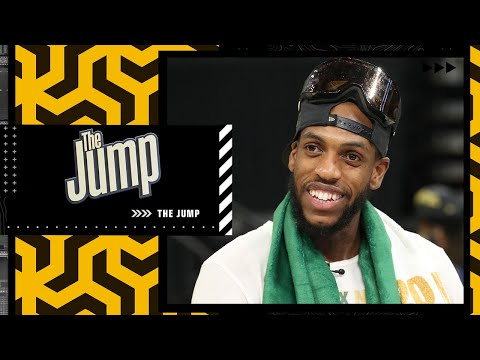 'To be a champion with my brother Giannis is amazing' - Khris Middleton   The Jump