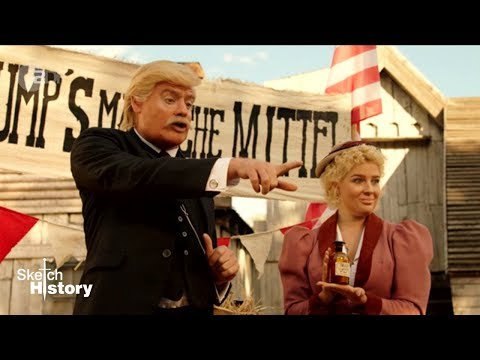 Trump im Wilden Westen - NEUE STAFFEL Sketch History 2018 |