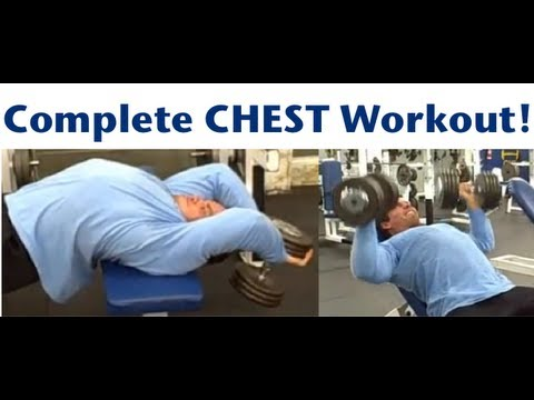 Complete Chest Workout Routine - YouTube