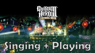 Free-Styling while Playing the Game  😂😂😂😂 |Guitar Hero 3 Gameplay
