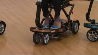 EV Rider Folding Mobility Scooter on QVC