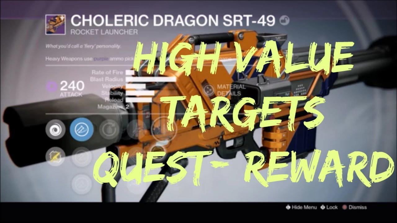 Destiny: TTK High Value Target Quest Finale