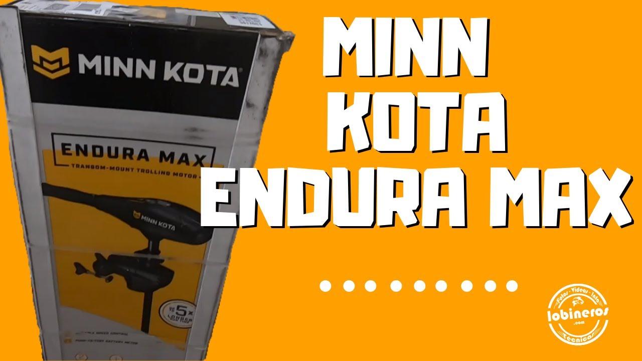 Minn Kota 55 Endura Max Trolling Motor Unboxing