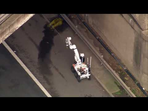 Bomb disposal unit sent to check suspicious object found on M1