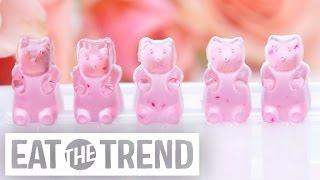 How to DIY Rosé Wine Gummy Bears | Eat the Trend