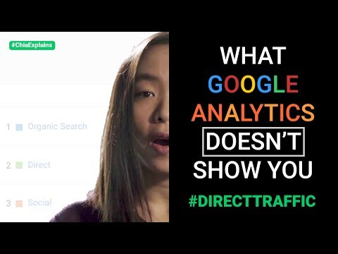 What Google Analytics DOESN'T Show You (where Your Direct Traffic Comes From)   #ChiaExplains