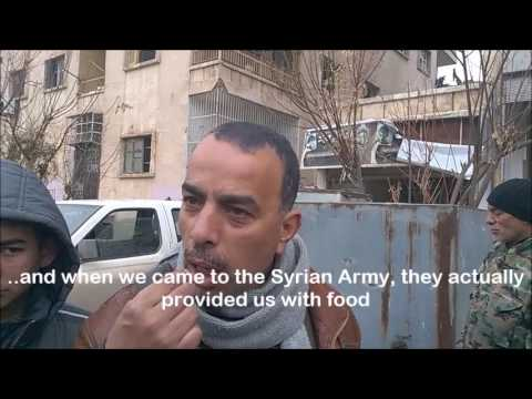 EAST ALEPPO: Enough food in Aleppo for one year....