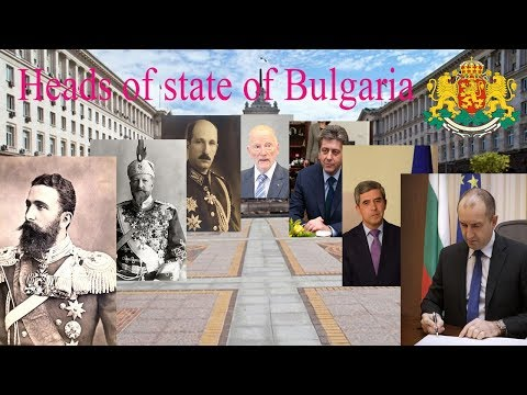 Heads of state of Bulgaria