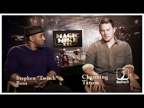 Channing Tatum & tWitch Interview MAGIC MIKE XXL
