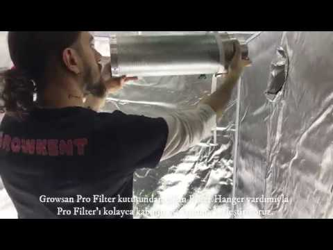 aspiratör  karbon filtre nasıl takılır